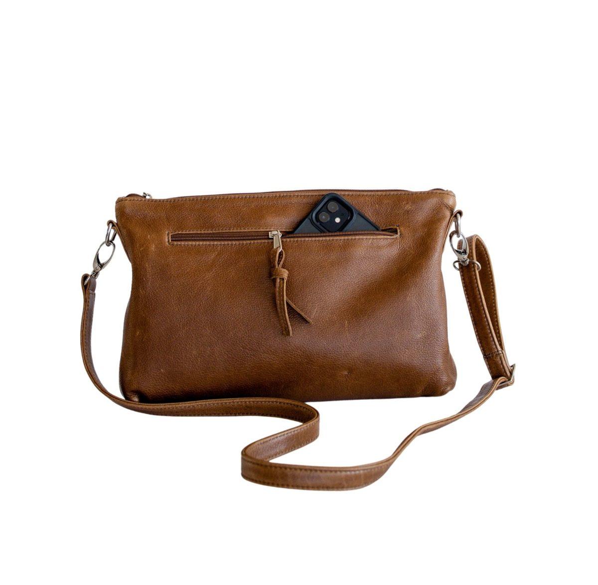 jeankelly fudge sling baby bag outside phone pocket