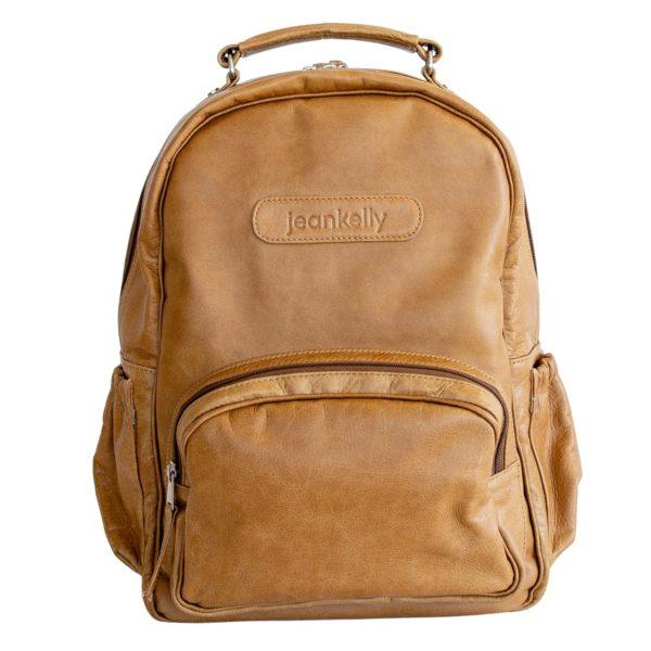 jeankelly vanilla blonde leather original backpack main